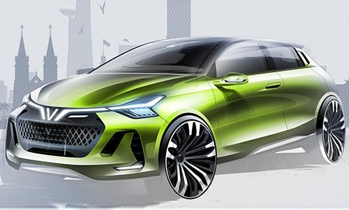Thiết kế hatchback chạy xăng của ItalDesign.