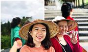 Cô gái Sài Gòn 'Nắm tay mẹ đi khắp thế gian'
