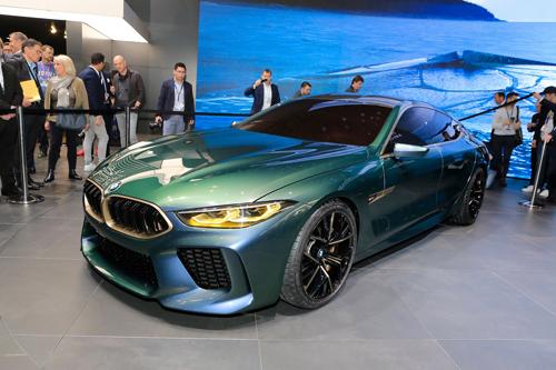 BMW M8 Gran Coupe tại triển lãm Geneva 2018.