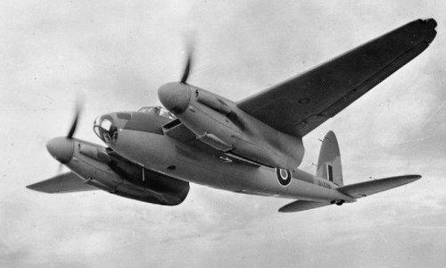 Máy bay Mosquito của không quân Anh. Ảnh: RAF.