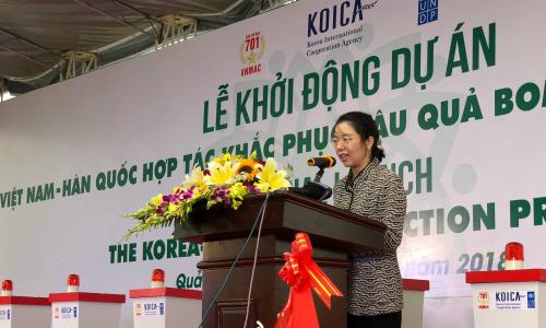 Hàn Quốc tài trợ Việt Nam 20 triệu USD khắc phục hậu quả bom mìn