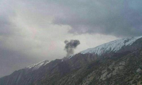 Rơi máy bay Thổ Nhĩ Kỳ chở 11 người ở Iran