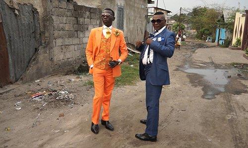 """Quý ông Congo """"chắt bóp"""" để mặc đẹp gây hiếu kỳ tuần qua"""