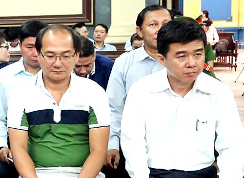 Cựu Tổng giám đốc Trí bị đề nghị mức án cao nhất trong vụ án. Ảnh: Hải Duyên.