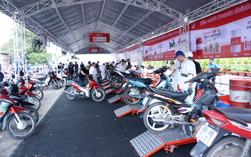 Honda - Trọn niềm tin đến với khách hàng các tỉnh phía Bắc từ ngày 10/3.