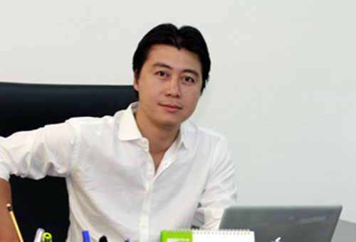 Phan Sào Nam thời điểm còn làm Chủ tịch VTC Online. Ảnh: VTC Online