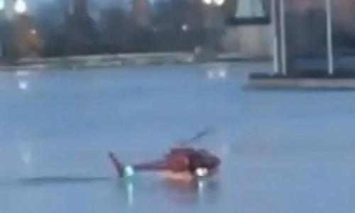 5 người chết trong vụ trực thăng rơi xuống sông New York