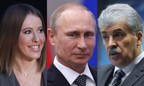 8 gương mặt tranh cử tổng thống Nga