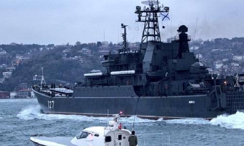 Nga điều thêm tàu đổ bộ cỡ lớn đến Syria