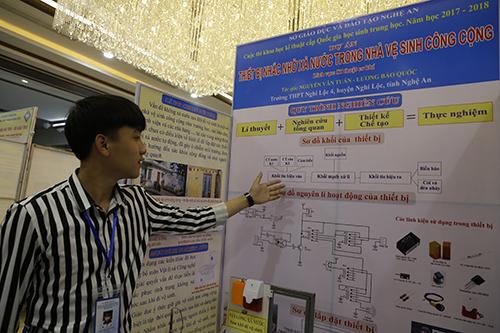 249 dự án tham gia cuộc thi năm nay. Ảnh: Nguyễn Hải.