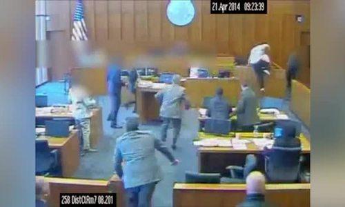 Tội phạm Mỹ bị bắn chết tại tòa vì tấn công nhân chứng