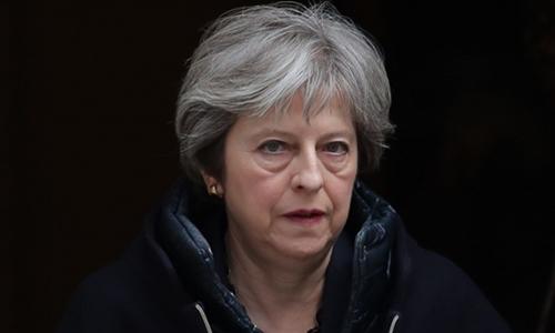 Thủ tướng Anh Theresa May. Ảnh: AFP.