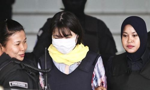 Đoàn Thị Hương bị dụ dỗ hai tháng trước nghi án Kim Jong-nam