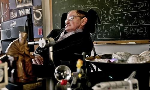 Giáo sư Stephen Hawking qua đời sau nhiều năm sống chung với căn bệnh teo cơ tủy. Ảnh: