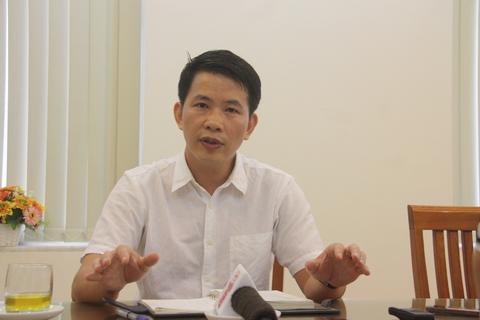 Phó chủ tịch UBND quận Hoàn Kiếm Phạm Tuấn Long. Ảnh: Võ Hải.