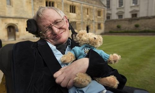 Giáo sư Hawking chia sẻ ông còn nhiều điều muốn làm trước khi chết. Ảnh: Telegraph.