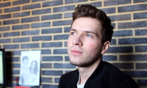 Dmitry Shaburov, 18 tuổi. Ảnh: Washington Post.