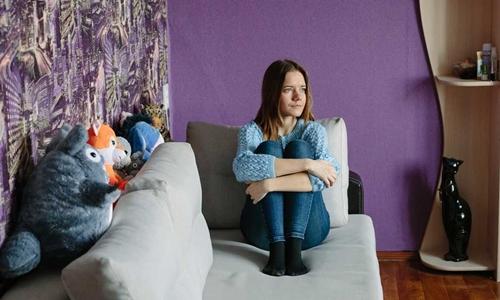 Yekaterina Mamay, 20 tuổi. Ảnh: Washington Post.