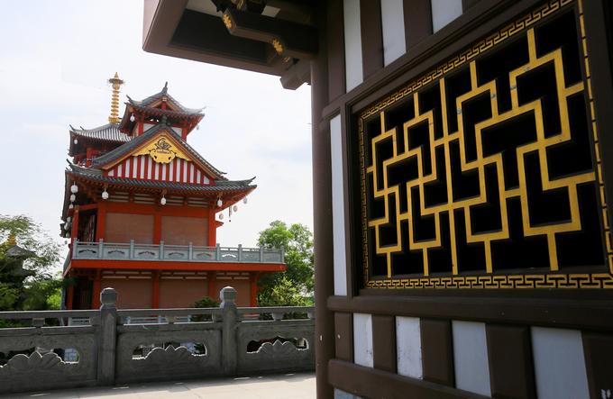 Tu viện mang phong cách Nhật Bản ở Sài Gòn