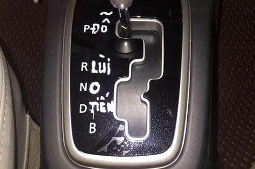 Chữ B có thể là thắc mắc của nhiều tài xế.