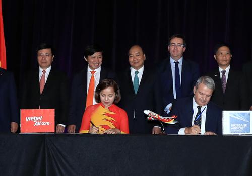 Vietjet Air tính mở đường bay thẳng đến Australia