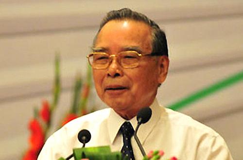 Nguyên Thủ tướng Phan Văn Khải. Ảnh:SGGP