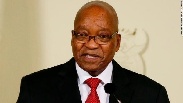 Cựu tổng thống Nam Phi Jacob Zuma. Ảnh:
