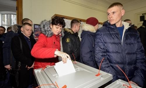 Ukraine không cho kiều dân Nga bầu tổng thống