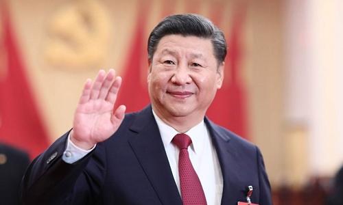 Kim Jong-un chúc mừng ông Tập tái đắc cử chủ tịch Trung Quốc