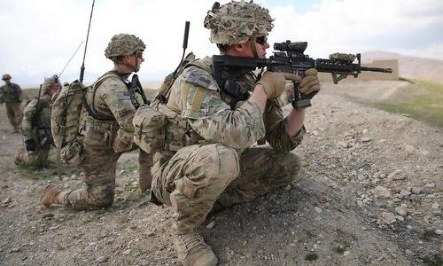 Đặc nhiệm Mỹ đào công sự, sẵn sàng đối mặt lính đánh thuê Nga ở Syria
