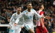 Real Madrid 6-3 Girona(Vòng 29 - La Liga 2017/18)