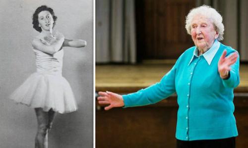 Cụ bà 97 tuổi ở Anh dành cả cuộc đời dạy múa ballet
