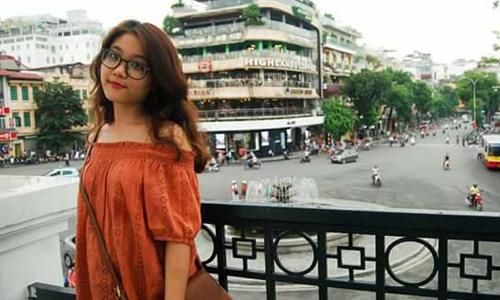 Bức ảnh Thu Hà do chị gái đăng trên mạng xã hội. Ảnh: Facebook.