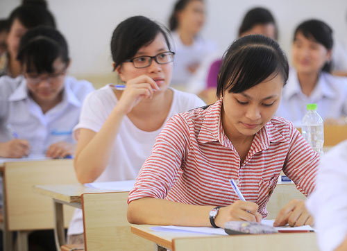 Thí sinh ngành báo chí của Học viện Báo chí và tuyên truyền sẽ phải thi thêm môn Năng khiếu do trường tự ra đề, chấm thi. Ảnh minh họa: Giang Huy.