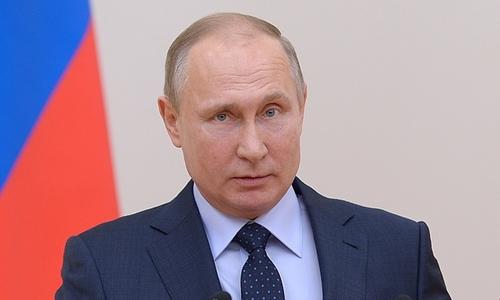 Chủ tịch nước chúc mừng Tổng thống Nga Putin tái đắc cử