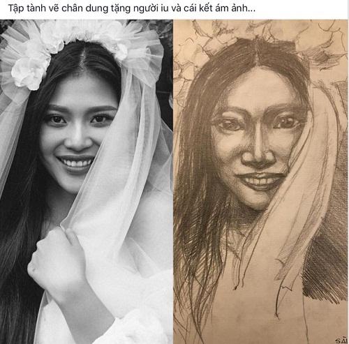 Bức họa chân dung khiến người đẹp khóc thét.