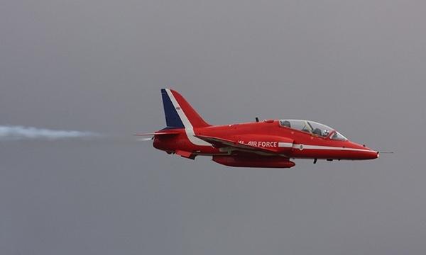 Một phi cơ thuộc Red Arrows. Ảnh: Global Look Press.