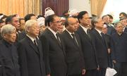 Các đoàn lãnh đạo đến viếng nguyên Thủ tướng Phan Văn Khải