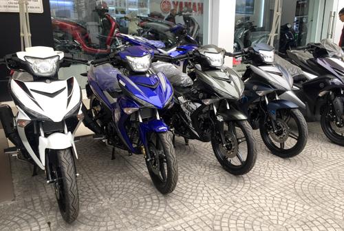 Xe máy Honda, Yamaha đồng loạt giảm giá để kích cầu