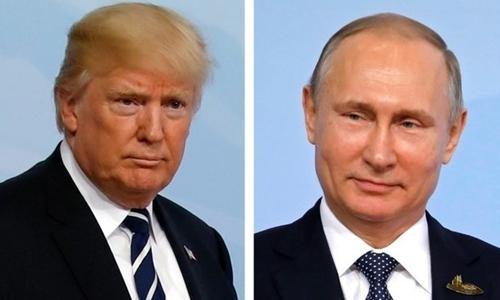 Trump - Putin điện đàm lần đầu sau bầu cử tổng thống Nga
