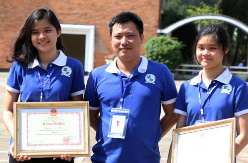 THPT chuyên Lê Hồng Phong dẫn đầu cuộc thi khoa học cấp quốc gia