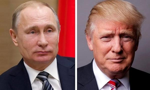 Tổng thống Nga Vladimir Putin (trái) và Tổng thống Mỹ Donald Trump. Ảnh: Reuters.