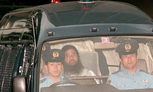 Nhật có thể sắp xử tử 13 thành viên giáo phái 'Tận thế'