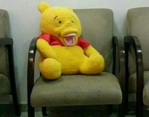 Gấu Pooh phiên bản ngổ ngáo.