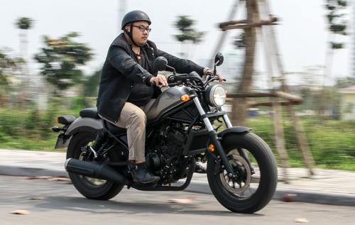 Honda Rebel 300 - xe máy cho đàn ông Việt