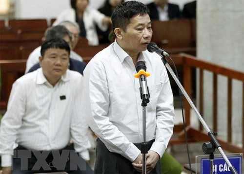 Bị cao Ninh Văn Quỳnh. Ảnh: TTXVN
