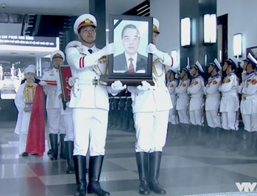 Lễ di quan nguyên Thủ tướng Phan Văn Khải bắt đầu từ 8h.