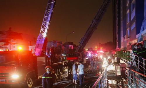 Cư dân Carina Plaza từng cảnh báo cháy trước vụ hỏa hoạn 13 người chết