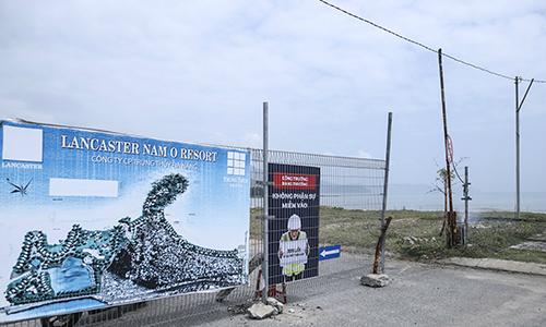 Đà Nẵng tháo dỡ một phần hàng rào chắn bãi biển Nam Ô