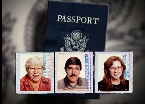 Ba nạn nhân của vụ án.